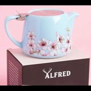 Brand New Alfred Ceramic & Stainless Steel Teapot